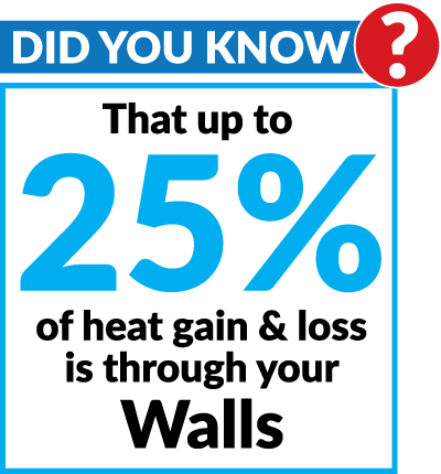 Did You Know - Walls Heat & Loss